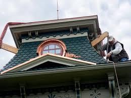 rebuilding a mansard roof old house restoration products