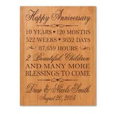 10 year wedding anniversary gift ideas 10 year wedding anniversary gift ideas for b89 on images