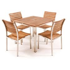 teak and stainless steel outdoor furniture outdoor goods