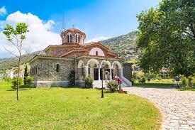 church baptistry st lydia s baptistry church lydia philippi greece editorial
