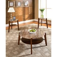 Granite Top Dining Room Table Cute Round Granite Top Coffee Table With Table Leg Base And Wooden