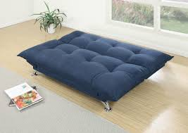 f7899 navy convertible sofa bed by poundex