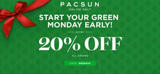 pacsun black friday promo code pacsun green monday promotion zenestante