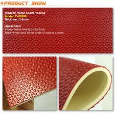 gobbet embossed series sports vinyl flooring sheets china gobbet