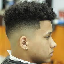 taper fade curly hair taper fade haircut curly simple haircuts