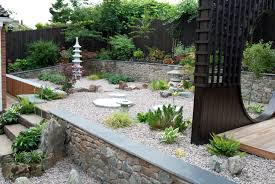 Simple Rock Garden Ideas by Small Front Garden Ideas On A Budget Uk Post Rock Solid Landscape