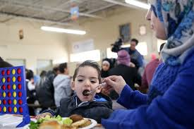 utah syrian refugees give thanks as they experience american