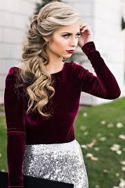 best 25 christmas hair ideas on pinterest pretty hairstyles