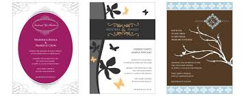 designer wedding invitations free wedding invitations by designmantic