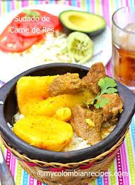 colombian beef stew sudado de res my colombian recipes