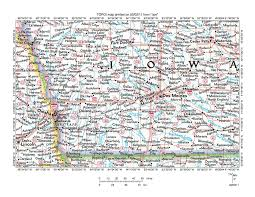Map Of Des Moines Iowa Des Moines River Nishnabotna River Drainage Divide Area Landform