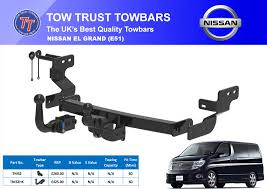 nissan elgrand accessories uk home tow trust