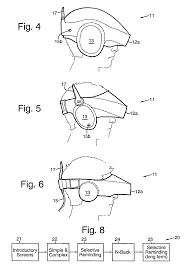patent us8568311 display enhanced testing for concussions and
