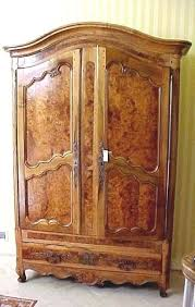 Tv Armoire With Doors And Drawers Baby Armoire Wardrobe 4 Or 10 Bronze Eye Hinges Vintage Iron Flat
