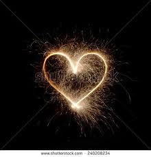 heart sparklers royalty free sparklers heart using a with a 240208228