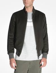 Wool Bomber Jacket Mens Armani Exchange Reversible Bomber Jacket Jacket For Men A X