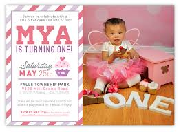 free first birthday invitation templates free printable