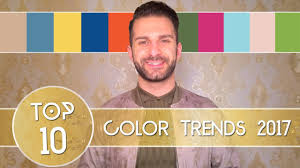 top 10 color trends ss 2017 michael albaho youtube