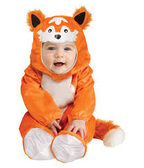 Halloween Costumes Kids Baby Boys Orange Fox Soft Halloween Costume Kids Costumes