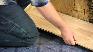 Diy Laminate Flooring On Concrete Installing New Flooring Over Linoleum Let U0027s Talk Flooring Youtube