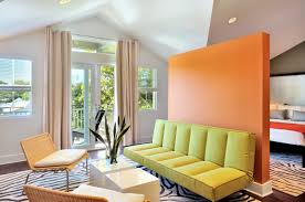 furniture contemporary partitions for rooms design with green