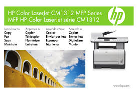 download free pdf for hp laserjet color laserjet cm1312