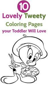 printable coloring sheets free printable tweety bird coloring