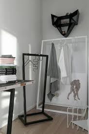 support vetement chambre chambre penderie design porte vetement penderie et armoire