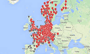 Where Is France On The Map Destination Charging Tesla Uk