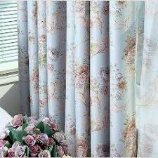 Red Blue Curtains New Romantic French Thermal Blackout Curtains For The Bedroom Rose