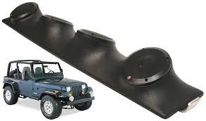 jeep wrangler speaker box jeep wrangler yj tj jk rockford system r152 custom 4 5 1 4