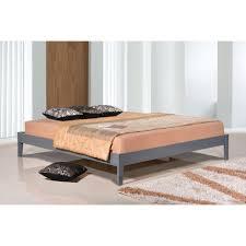 Queen Size Platform Bed South Shore Gloria Queen Wood Platform Bed 10120 The Home Depot