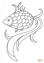 fish coloring pages printable cartoon fish coloring page free printable coloring pages
