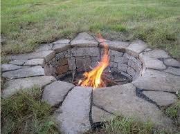 Rock Firepits 115 Best Backyard Pits Images On Pinterest Garden Pit