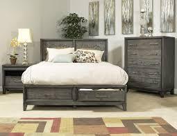 Modern Bedroom Platform Set King Cove Beach Platform Storage Bed Haiku Designs