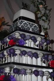 damask wedding cake cake pop display cakecentral com