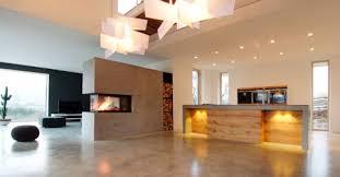 design wohnen beton feuer und design wohnen regional magazin