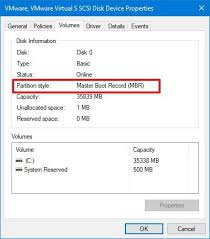 Unsupported Partition Table How To Convert An Mbr Disk To Gpt And Move From Bios To Uefi On