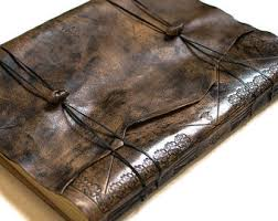 personalized leather guest book personalized leather journal large custom leather guest book