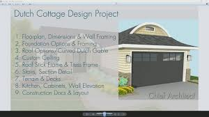 foundation slab full basement crawl space dutch cottage design