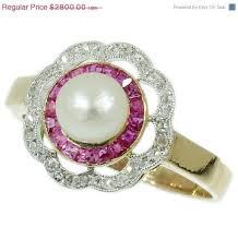 183 best pearl engagement rings images on pinterest pearl rings