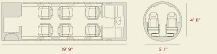 Interior Layout Discover The New Learjet 75lxi Flexjet
