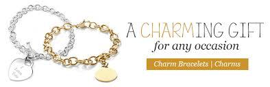 gold personalized bracelets personalized charm bracelets custom charm bracelets