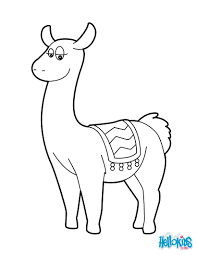 lama coloring pages hellokids com
