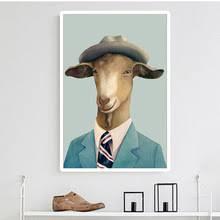 Goat Decor Goat Painting Promotion Shop For Promotional Goat Painting On