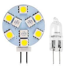 g4 led bulb dual color bi pin led disc 132 lumens boat rv