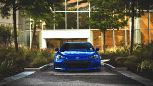 subaru brz custom wallpaper car subaru blue cars subaru brz wallpapers hd desktop and