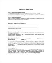 13 rental agreement templates free sample example format