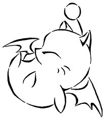 final fantasy moogle coloring pages image mag