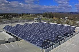 technology garage altenergy inc virginia tech parking garage solar array